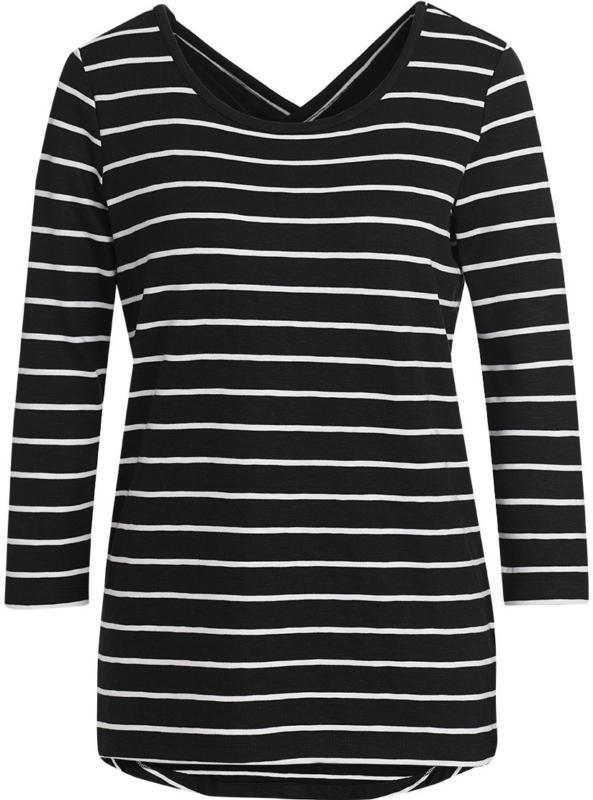 Damen Shirt mit gekreuzten Trägern (Nur online)