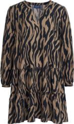 Damen Kleid mit Animal-Print