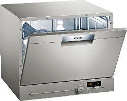 Freistehender Kompakt-Geschirrspüler, 55 cm, Edelstahl, lackiert SK26E822EU