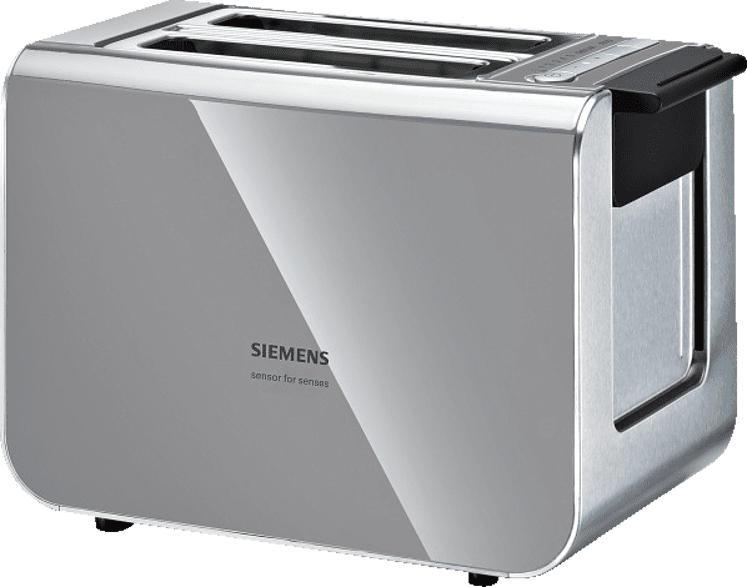 SIEMENS TT86105 Toaster Grau/Schwarz (860 Watt, Schlitze: 2)