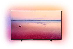 PHILIPS 43PUS6704/12 LED TV (Flat, 43 Zoll/108 cm, UHD 4K, SMART TV, Ambilight)