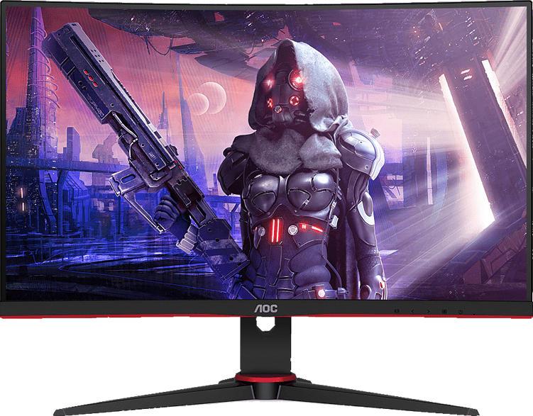 AOC C24G2AE 23.6 Zoll Full-HD Gaming Monitor (1 ms Reaktionszeit, FreeSync, 165 Hz)