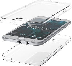 AGM 29002 , Full Cover, Apple, iPhone 11 Pro, Thermoplastisches Polyurethan, Transparent