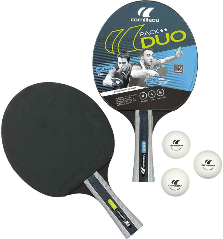 Cornilleau set da ping pong Sport Pack Duo -