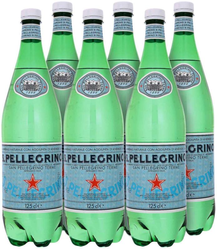 San Pellegrino acqua minerale 6 x 1,25 litri -