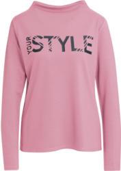 Damen Sweatshirt mit gummiertem Print