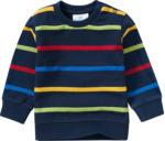 Ernsting's family Baby Sweatshirt mit bunten Ringeln