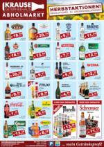 Getränkehaus Krause Flugblatt - Oktober 2020