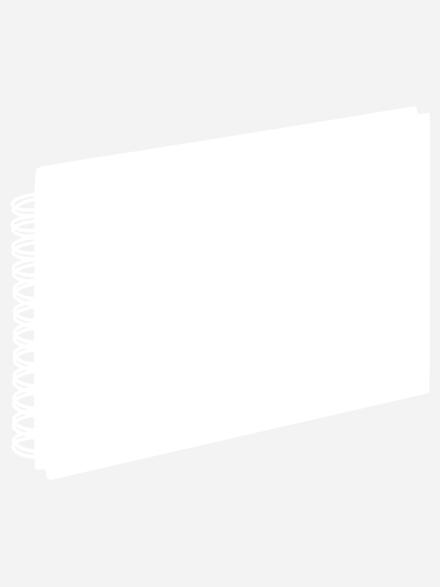 WALTHER Spiralalbum Fun Fotoalbum , 40 Seiten , Strukturpapier , Blau
