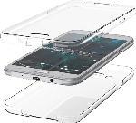 MediaMarkt AGM 27743 , Full Cover, Samsung, Galaxy S10, Thermoplastisches Polyurethan, Transparent