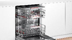 BOSCH SMI6ECS57E Serie 6 Geschirrspüler (teilintegrierbar, 598 mm breit, 42 dB (A), A++)