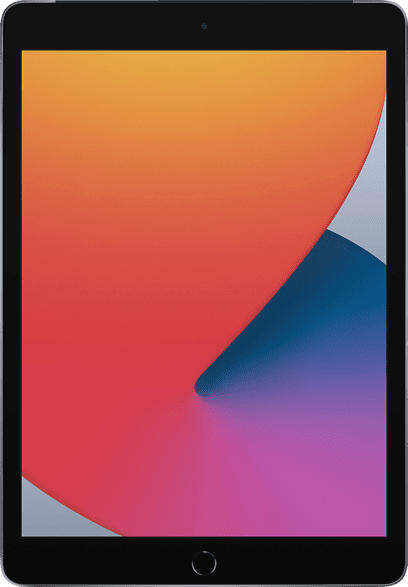 APPLE iPad Cellular (2020), Tablet , 32 GB, 10.2 Zoll, Space Grau
