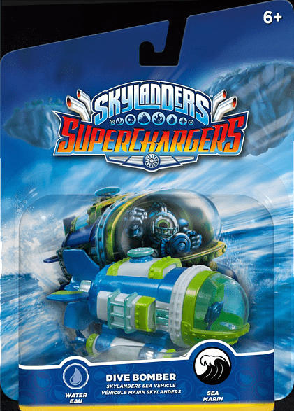 Skylanders SuperChargers - Fahrzeuge - Dive Bomber