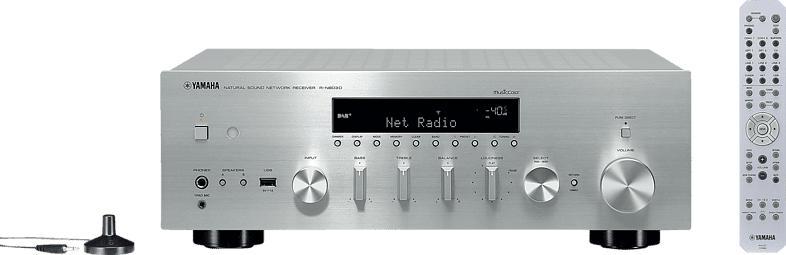 YAMAHA R-N803D Stereo Receiver (2 Kanäle, Silber)