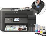 MediaMarkt EPSON EcoTank ET-4750 Epson Micro Piezo™-Druckkopf 4-in-1 Multifunktionsdrucker WLAN Netzwerkfähig
