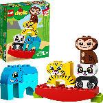MediaMarkt LEGO 10884 Meine erste Wippe mit Tieren Bausatz, Mehrfarbig