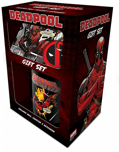 EMPIRE Deadpool - Action - Geschenk-Set Geschenk-Set, Mehrfarbig