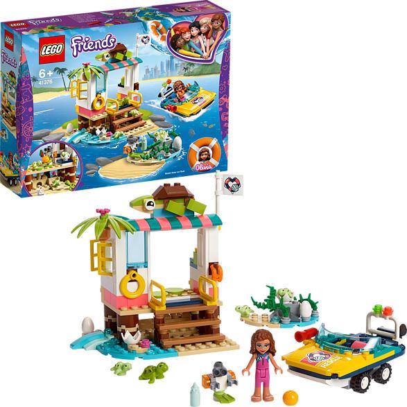 LEGO Schildkröten-Rettungsstation Bausatz, Mehrfarbig