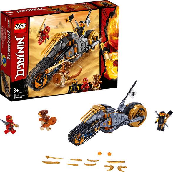 LEGO 70672 Coles Offroad-Bike Bausatz, Mehrfarbig