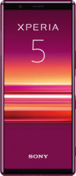 SONY Xperia 5 21:9 Display 128 GB Red Dual SIM