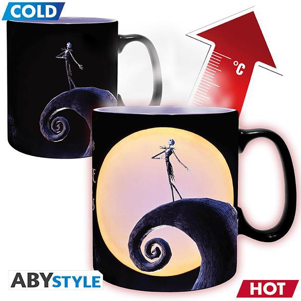 ABYSTYLE Nightmare Before Christmas Heatchange Tasse, Mehrfarbig