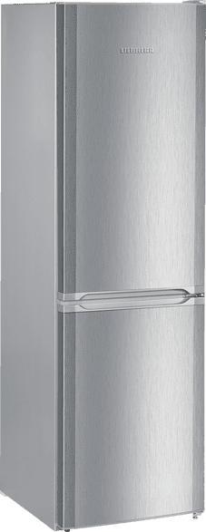 LIEBHERR CUel 3331-21  Kühlgefrierkombination (A++, 211 kWh/Jahr, 1812 mm hoch, Edelstahllook)
