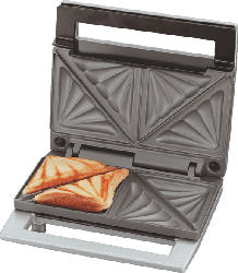 CLOER 6219 Sandwichmaker Silber