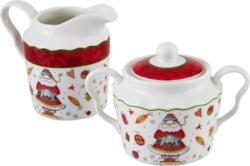 Milch- UND Zucker-Set  Keramik