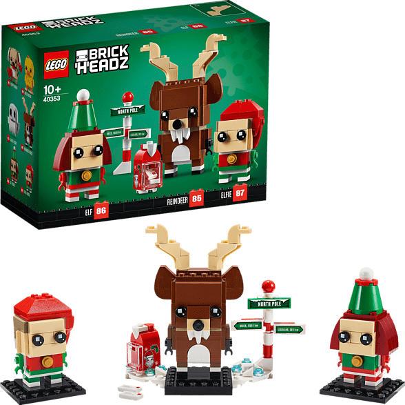 LEGO Rentier und Elfen Spielset, Mehrfarbig