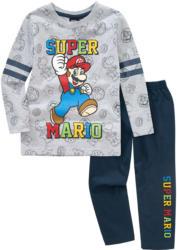 Super Mario Schlafanzug mit buntem Print