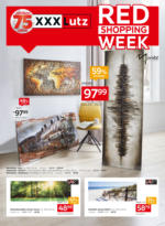 Red Shopping Week Bilder & Rahmen