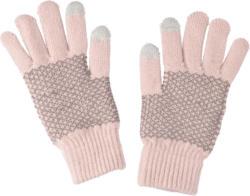 Damen Handschuhe mit Muster