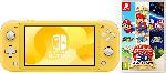 MediaMarkt Switch Lite Yellow + Super Mario 3D Allstars