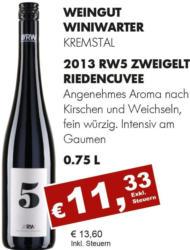 2013 RW5 Zweigelt Riedencuvée
