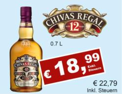 Chivas Regal Whisky 12 Years
