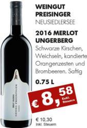 2016 Merlot Ungerberg