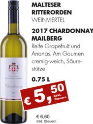 2017 Chardonnay Mailberg