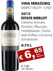 2015 Estate Merlot