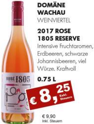 2017 Rosé 1805 Reserve