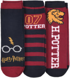 3 Paar Harry Potter Socken im Set