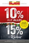 Möbel Buss Einrichtungshaus GmbH & Co. KG 10% auf alles, 15% auf Küchen - bis 14.10.2020