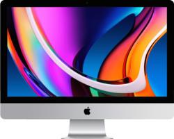 APPLE MXWT2D/A iMac 2020, All-in-One PC mit 27 Zoll Display, Core i5 Prozessor, 8 GB RAM, 256 GB SSD, Radeon Pro 5300, Silber