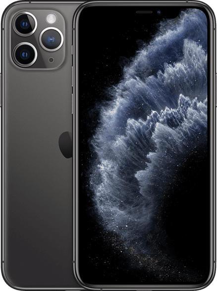 APPLE iPhone 11 Pro 64 GB Space Grau Dual SIM