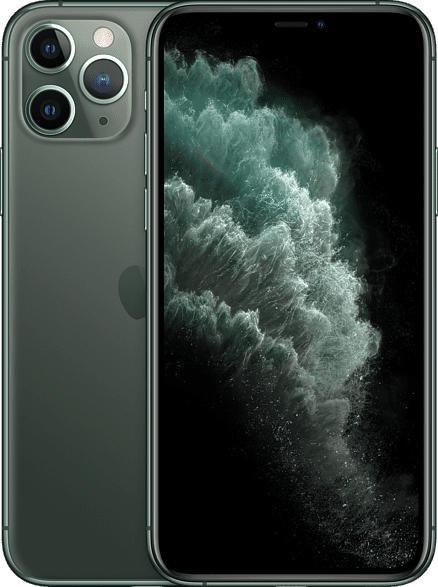 APPLE iPhone 11 Pro 64 GB Nachtgrün Dual SIM
