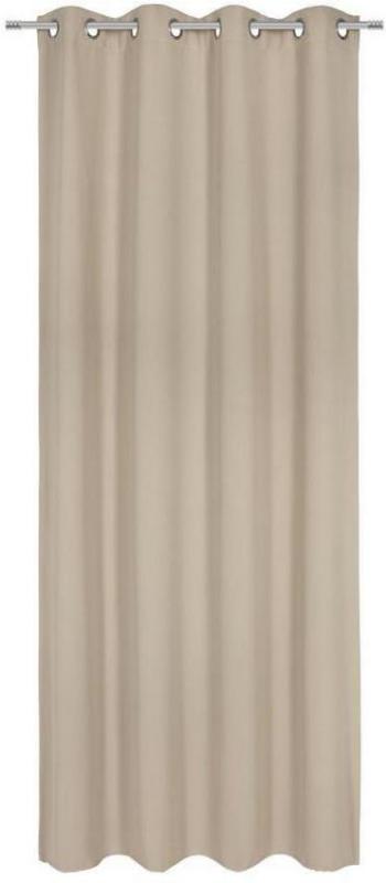 Vorhang mit Ösen Elma B: 140cm, Sand