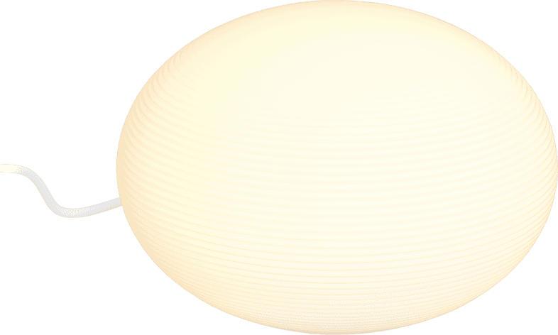 PHILIPS Hue Flourish Bluetooth Tischleuchte, Weiß
