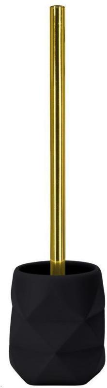 WC-Bürstengarnitur Golden Crackle