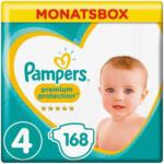 OTTO'S Pampers t. 4 Premium Protection Maxi 9-14 kg boîte mensuelle 168 pces -