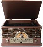 MediaMarkt ION Superior LP Record Player Plattenspieler Dunkelbraun