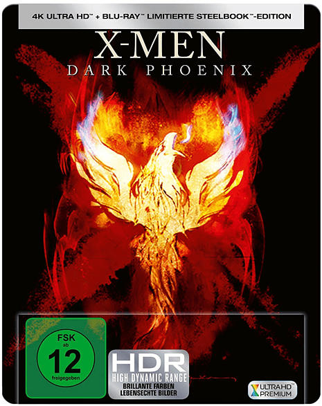 X-Men: Dark Phoenix - Limited Steelbook